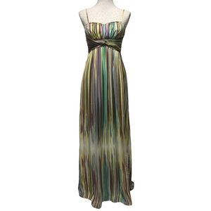 Jessica Simpson Pastel Maxi Dress Semi Formal